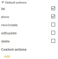 TYPO3 Extension Standard Actions