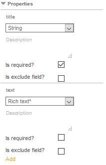 TYPO3 Extension Felder definieren