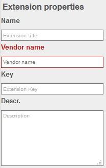 TYPO3 Extension Einstellungen